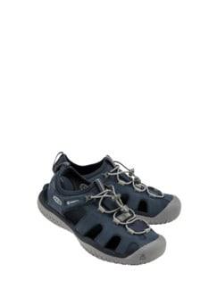 SOLR-Sandale dunkelblau Detail 2