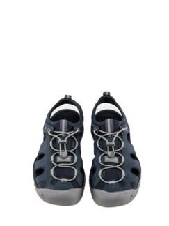 SOLR-Sandale dunkelblau Detail 3