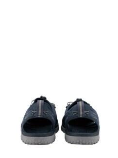 SOLR-Sandale dunkelblau Detail 4