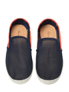 Rivieras Slipper Mar blau Detail 4