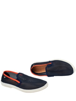Rivieras Slipper Mar blau Detail 1