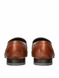 Geflochtener Loafer braun Detail 4