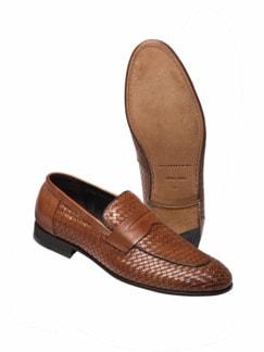 Geflochtener Loafer