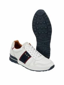 Sneaker Sangano weiß Detail 1