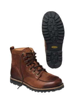 Moc Boot braun Detail 4