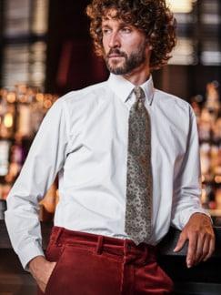 Best Man-Krawatte beige Detail 2