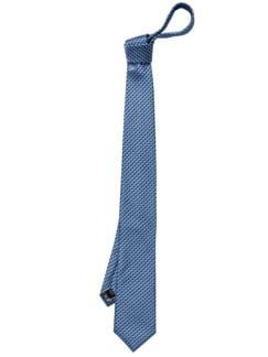3D-Krawatte blau Detail 1