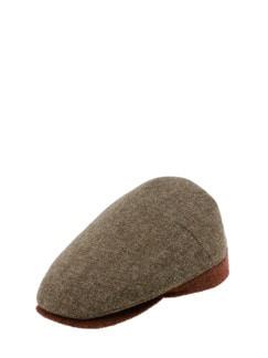Wollschieber mittelbraun Detail 1