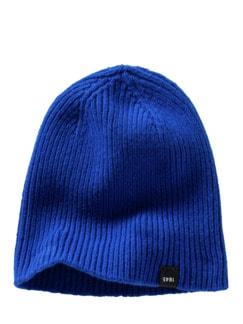 Highland-Mütze royalblau Detail 1