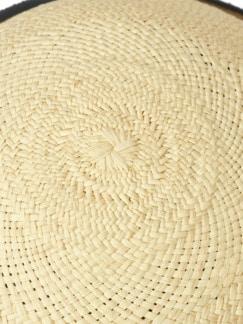 Panama Bowler natur Detail 3