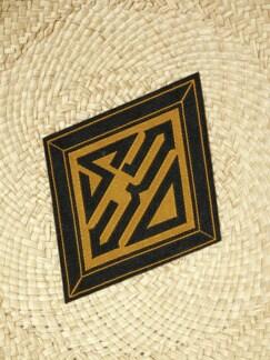 Panama Bowler natur Detail 4