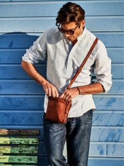 Wichtige-Dinge-Tasche braun Detail 2