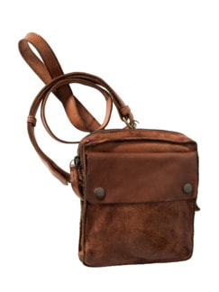 Wichtige-Dinge-Tasche braun Detail 1