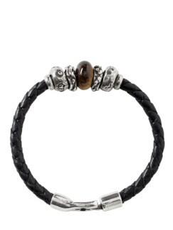 Katalonisches Armband schwarz Detail 1