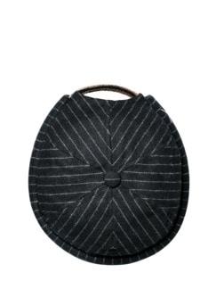 Miki Pinstripe Streifen schwarz Detail 1