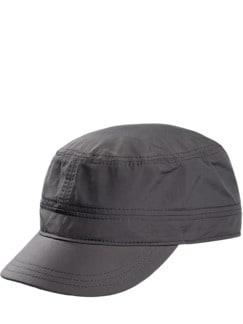 Grey Army Cap zementgrau Detail 1