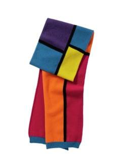 Piets Schal bunt Detail 1
