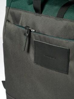 Urban Backpack grau/oliv Detail 4