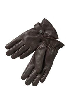 Mädels-Handschuhe Deer ebenholz Detail 1