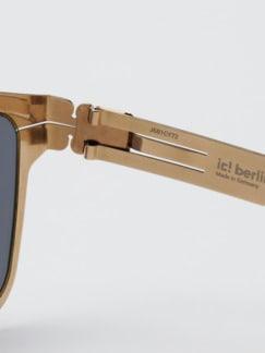 Sonnenbrille Hasenheide grau Detail 4