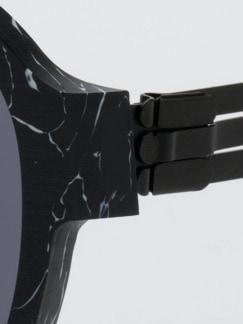 Sonnenbrille Power Law schwarz Detail 3