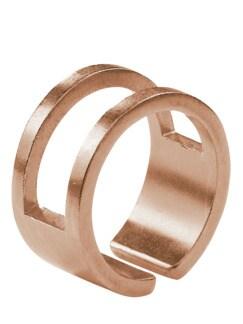 Designer-Ring rosegold Detail 1