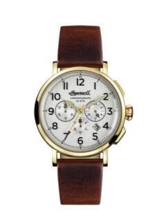 Ingersoll Uhr The St. Johns gold/braun Detail 1