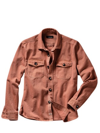 Think-big-Overshirt rost Detail 1