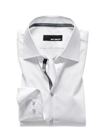 Dynamic-Shirt Ribbon weiß Detail 1
