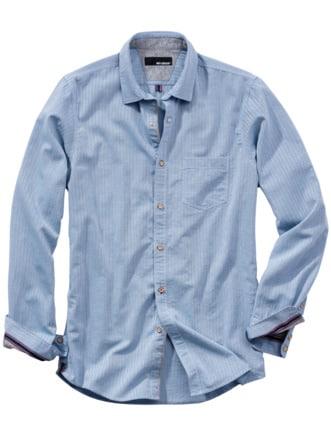 Freitags-Hemd hellblau Detail 1