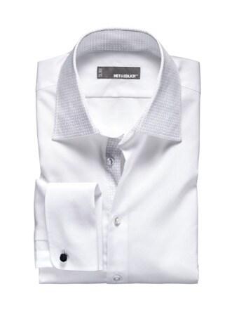 Party-Shirt weiß Detail 1