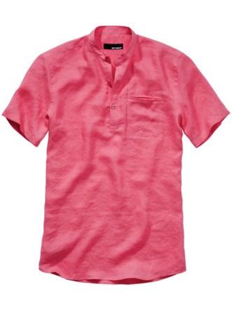 Urahnen-Hemd pink Detail 1