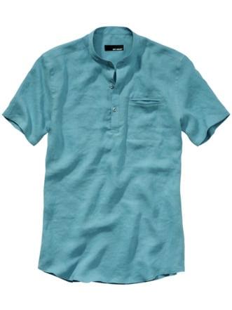 Urahnen-Hemd hellblau Detail 1