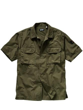 Tagretter-Hemd khaki Detail 1