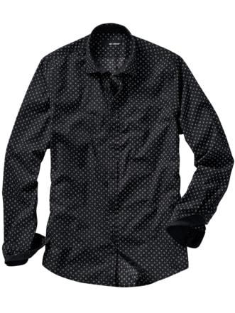 Karussel-Hemd schwarz Detail 1