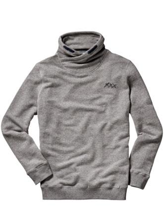 Masel-tov-Pullover grau Detail 1