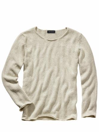 Upcycled Sweater altpapier-weiß Detail 1