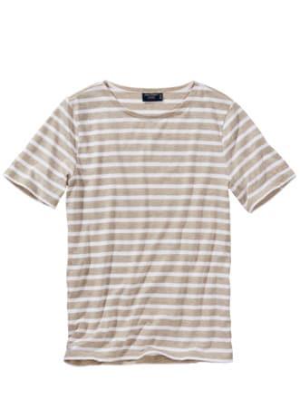 Bretagne-Shirt Levant Moderne natur/weiß Detail 1