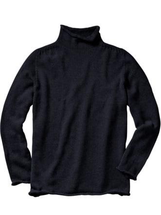 Innovationen-Pullover schwarz Detail 1