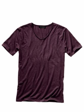 Magister-Shirt bordeaux Detail 1