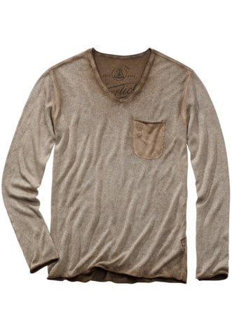 Buddy-Shirt Alan mocca Detail 1