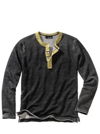 Lebenskünstler-Sweatshirt vintage grey Detail 1