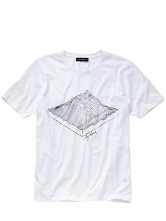 Kartografen-Shirt papierweiß Detail 1