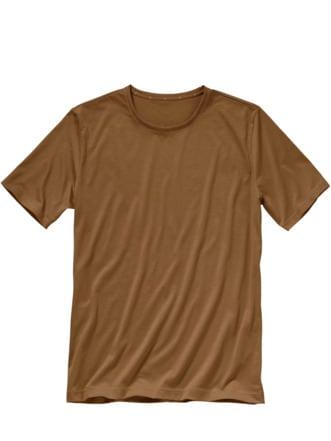 Erlesenes Shirt nussbraun Detail 1