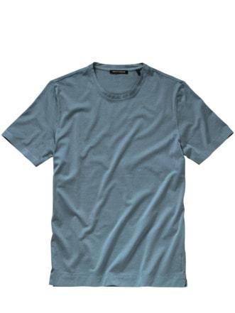 Manufakt-Shirt graublau Detail 1