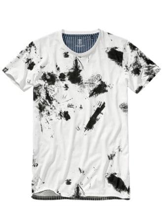 T-Shirt 41 Grad Nord weiß Detail 1