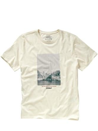 Gletscher-Shirt gletscherweiß Detail 1