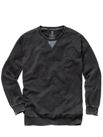 Sweatshirt Zollern kohle Detail 1