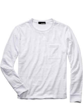 Elementar-Shirt strahlendweiß Detail 1