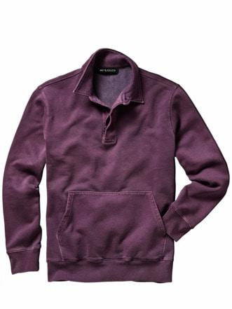 Unsterbliches Sweatshirt pflaume Detail 1